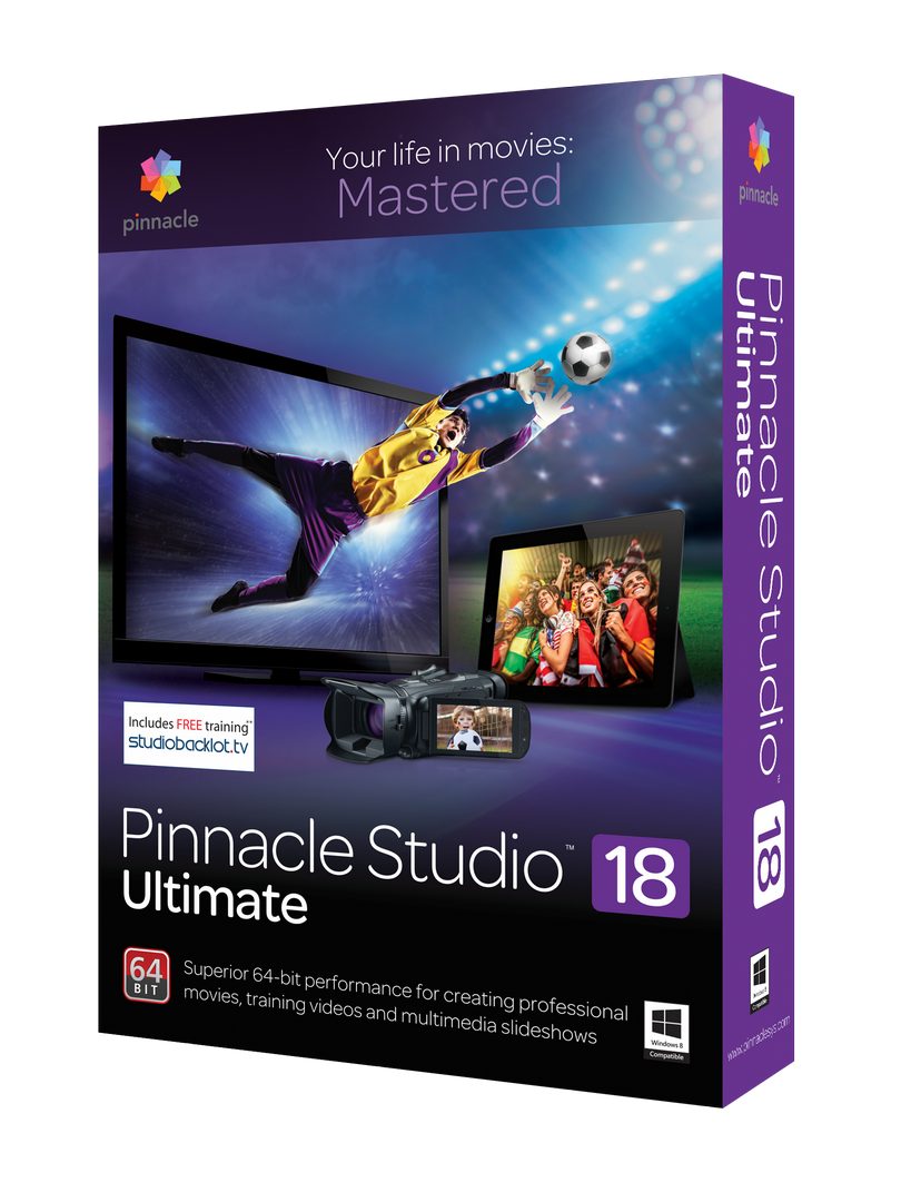 PINNACLE STUDIO 18 - AMT STUDIO 717